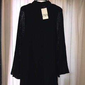 Zara Black Tunic Dress